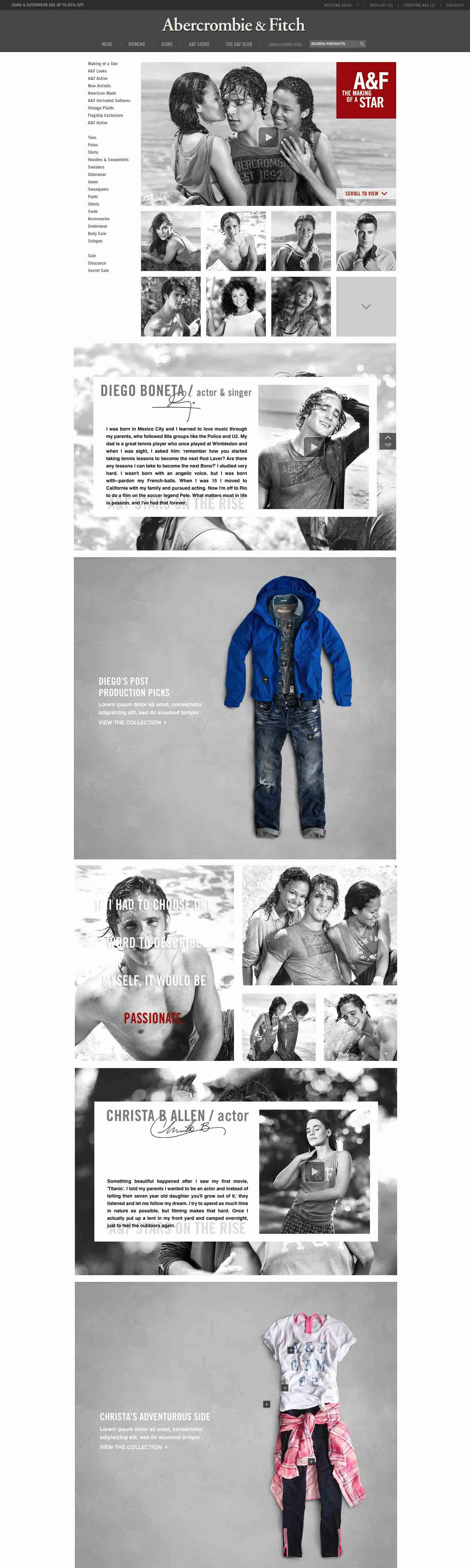 Sample of Rising Stars A&F Parallax Experience